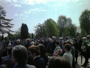 Uroczystości pogrzebowe dr n. med. Ewy Wągrowskiej-Koski