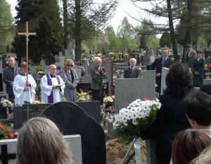 Relacja z pogrzebu dr n. med. Ewa Wągrowska-Koski