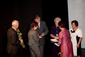 Wręczenie Medali Honorowych i nadanie Godności Członka Honorowego PTMP